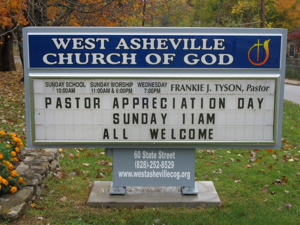 Our Work Cheadle Sign Works Asheville Signs Service And Installation Professionals